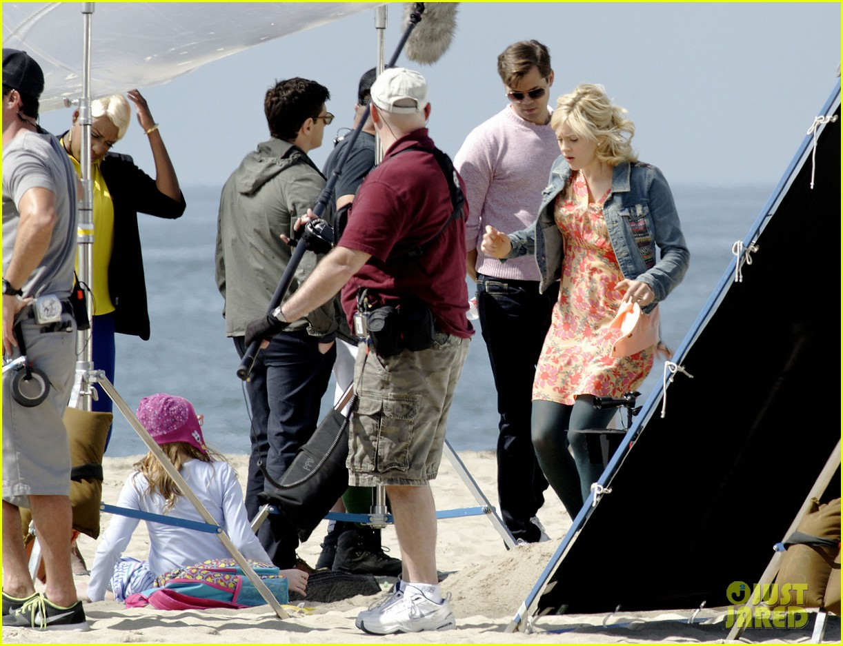 andrew rannells justin bartha new normal beach filming 242829469