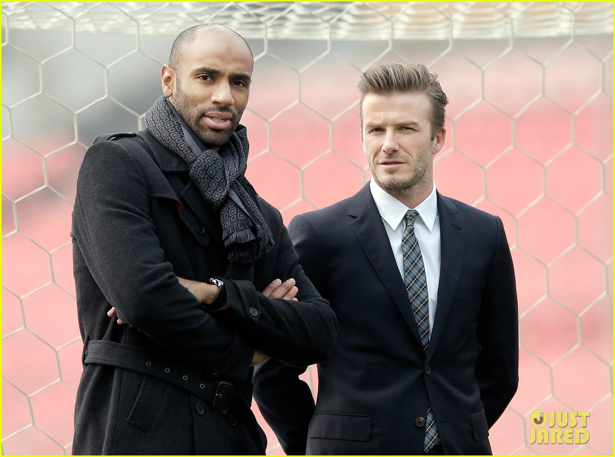 david beckham beijing guoan football club visit 102834939
