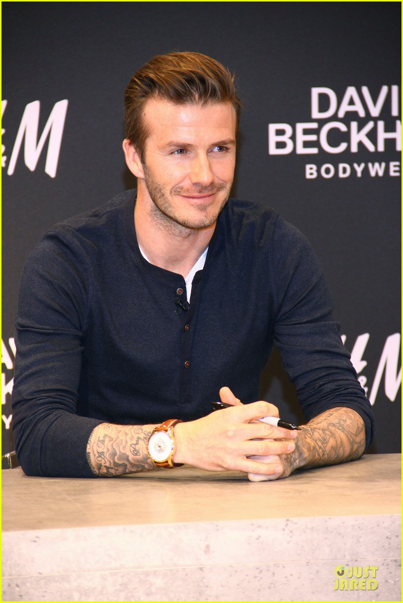 david beckham hm bodywear promotion in berlin 14