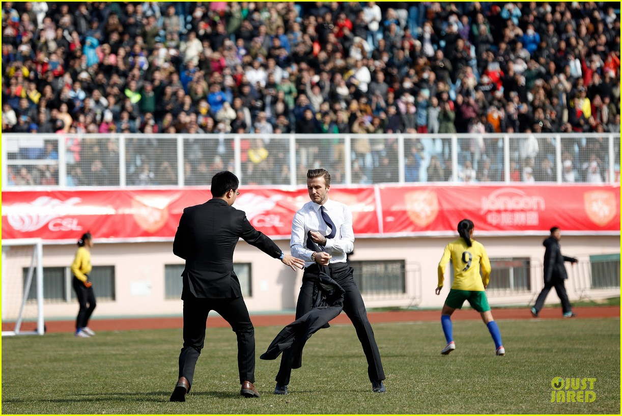 david beckham qingdao jonoon football club 032835919