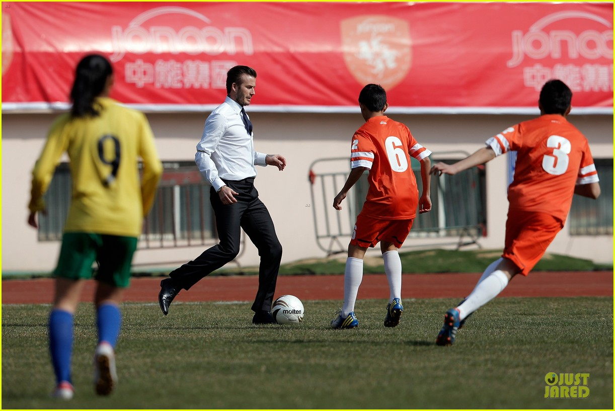 david beckham qingdao jonoon football club 122835928