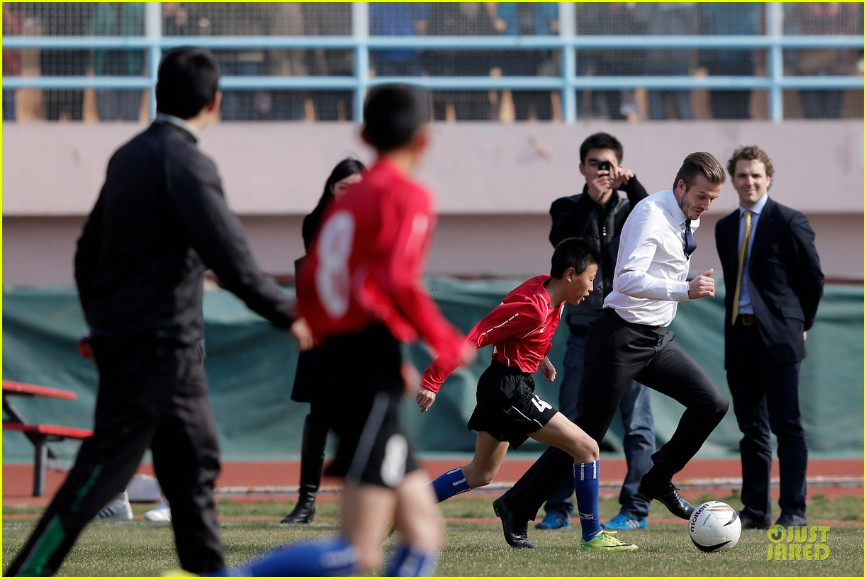 david beckham qingdao jonoon football club 132835929