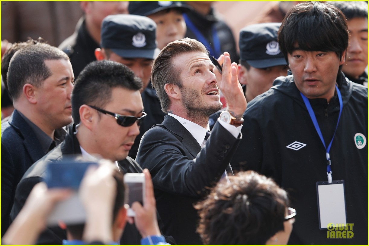 david beckham qingdao jonoon football club 142835930