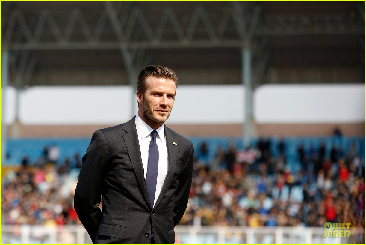 david beckham qingdao jonoon football club 152835931