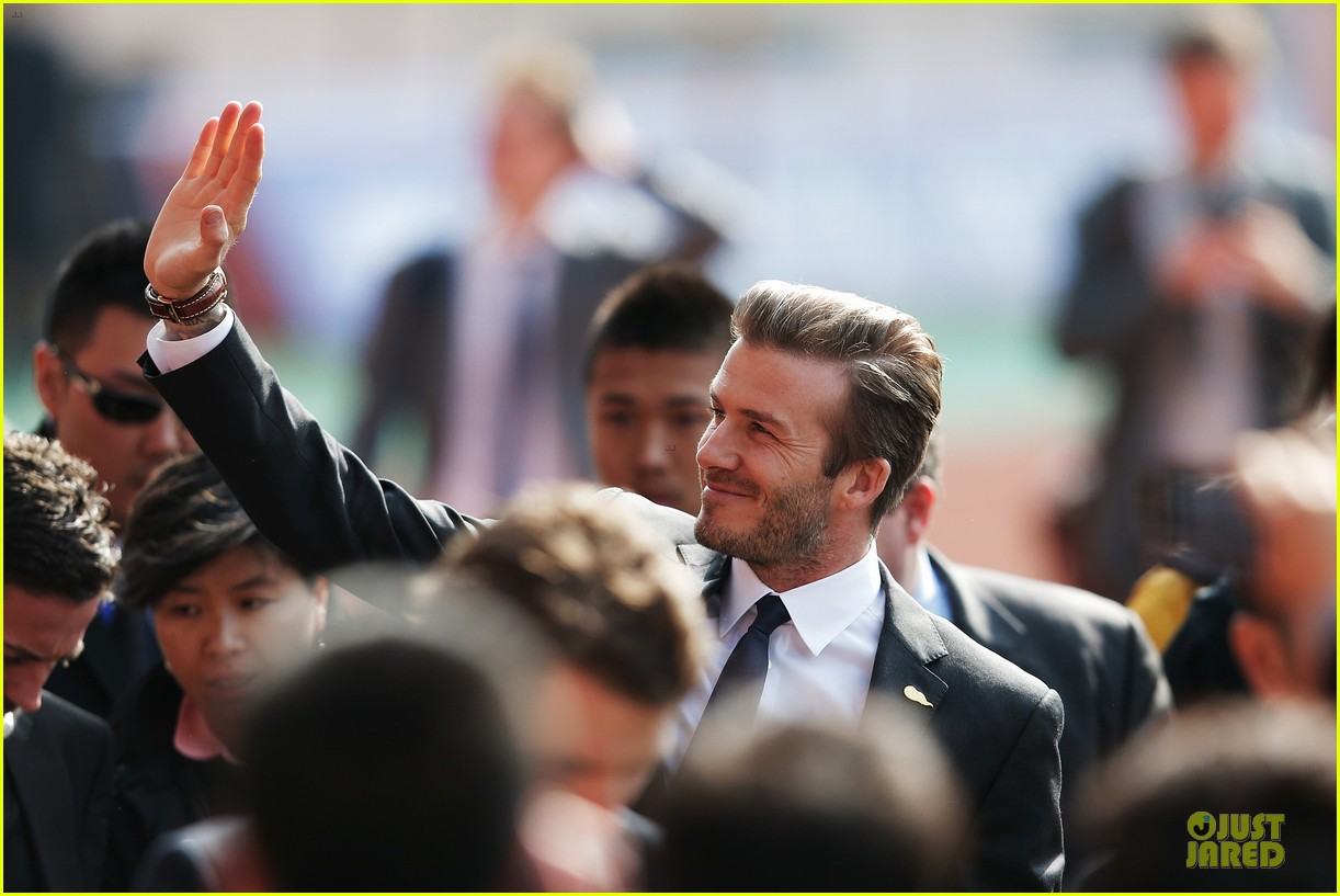 david beckham qingdao jonoon football club 17
