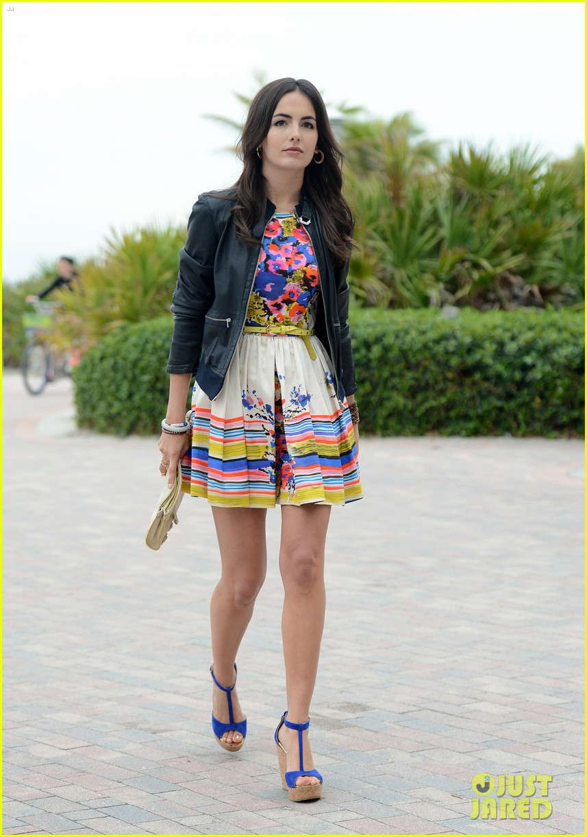 camilla belle cotton 24 hour runway show in miami 032823209
