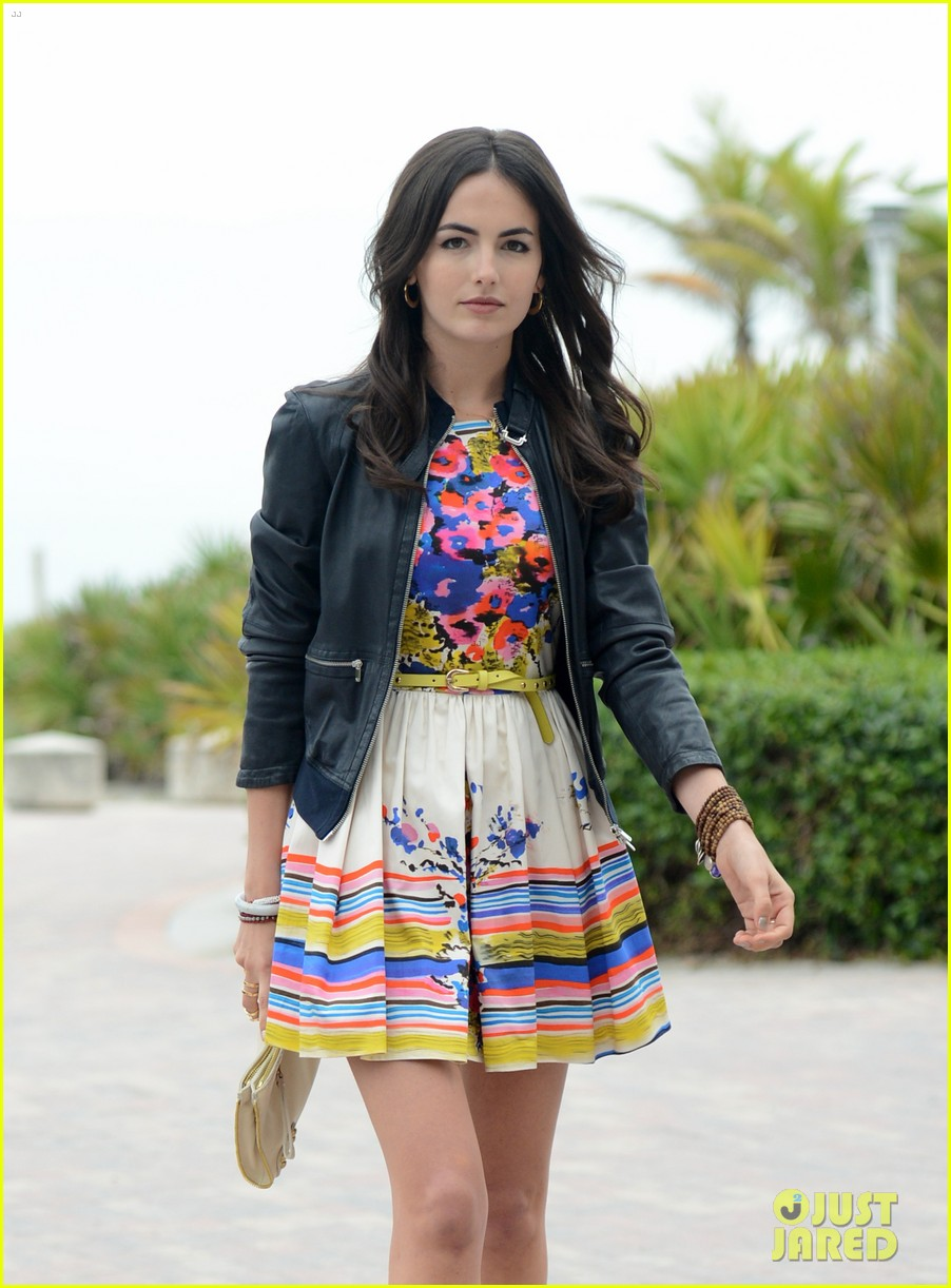 camilla belle cotton 24 hour runway show in miami 102823216