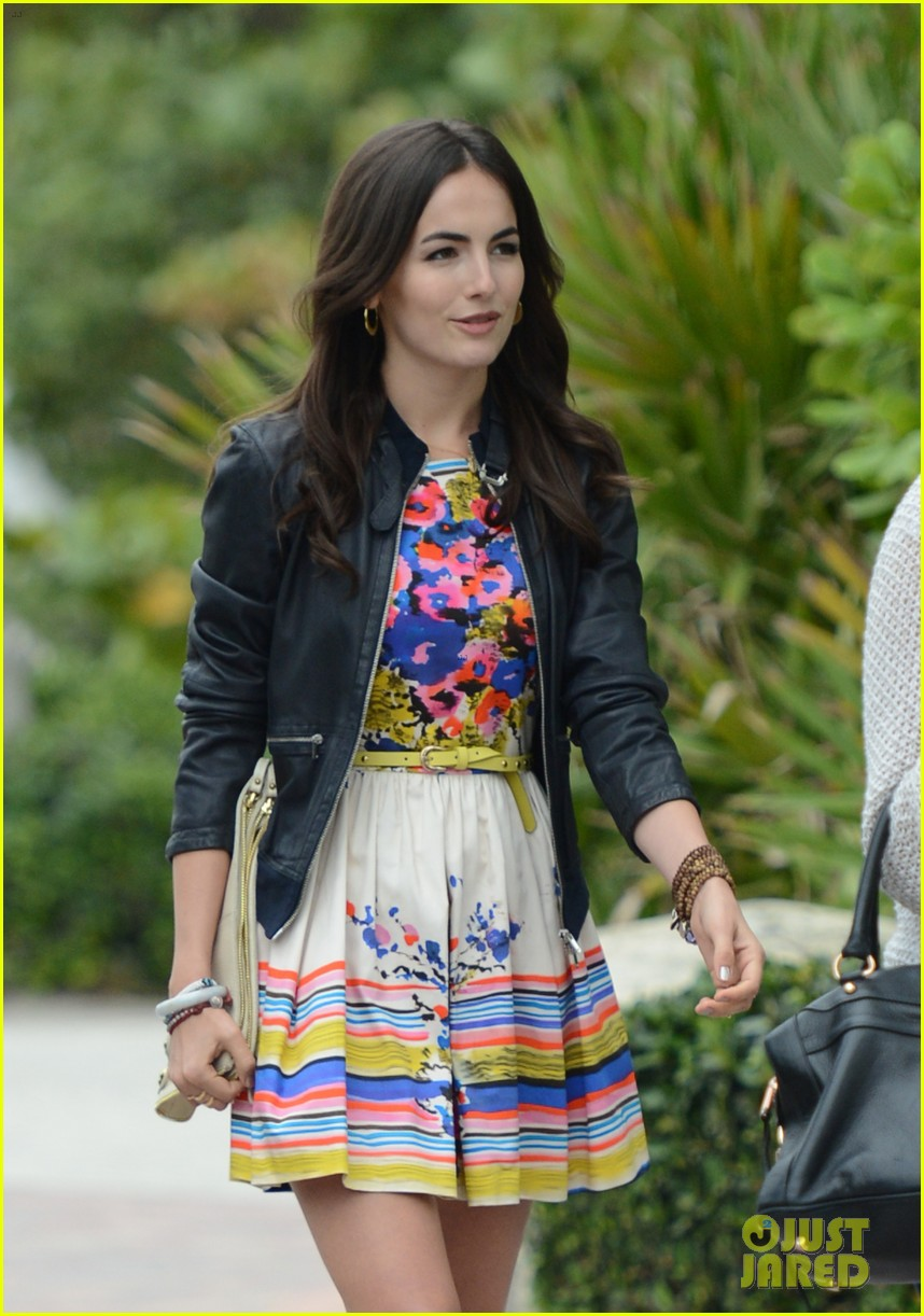 camilla belle cotton 24 hour runway show in miami 162823222
