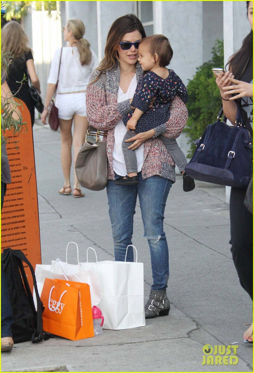 rachel bilson godmother duties in hollywood 032837444