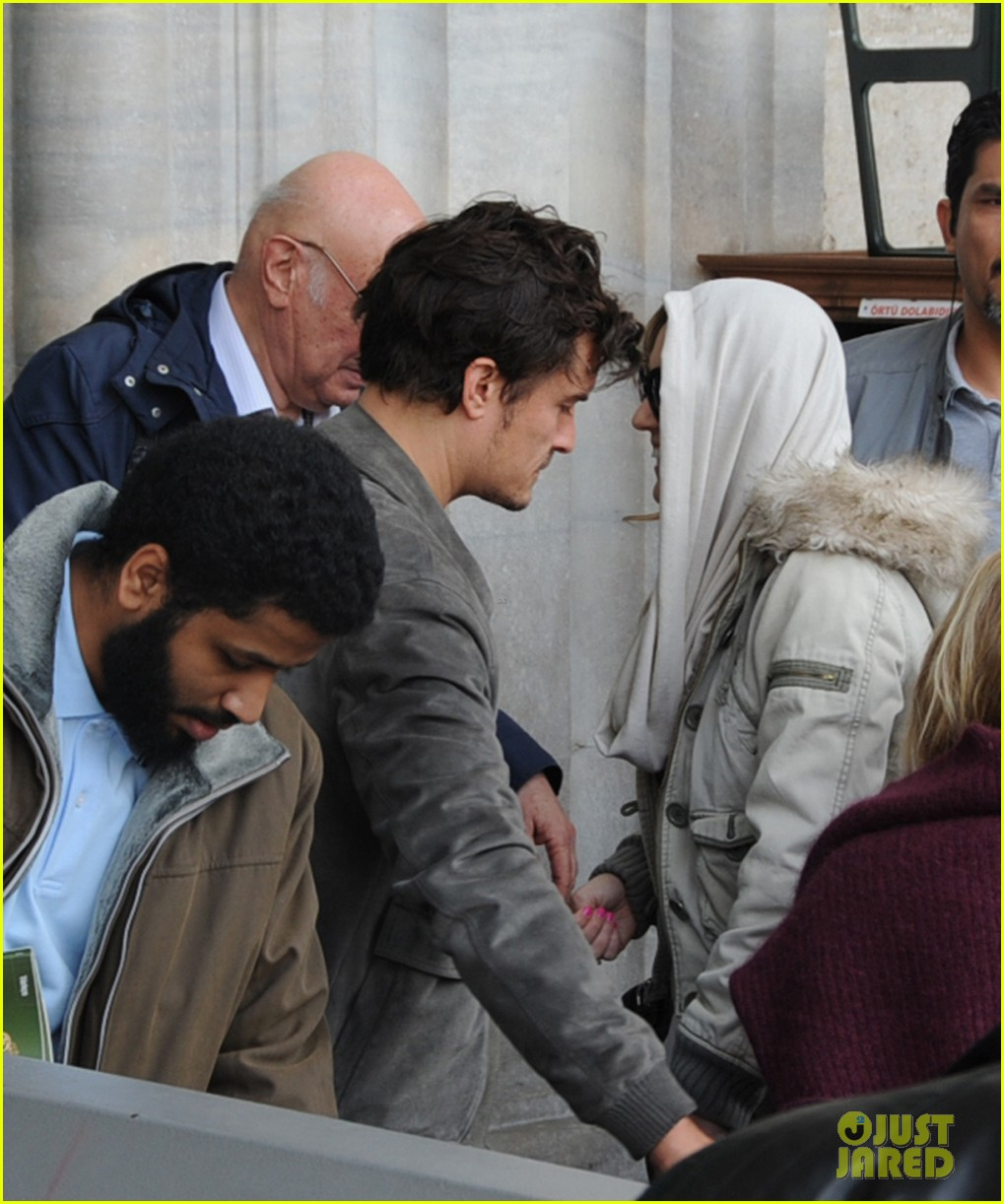 orlando bloom sightseeing in istanbul 072835805