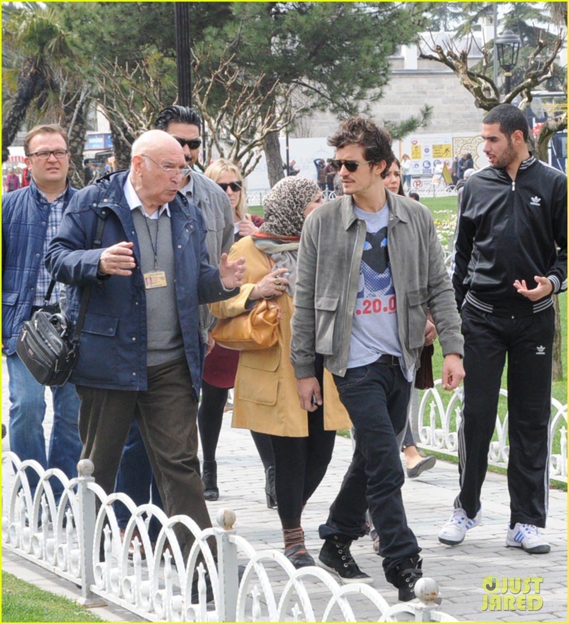 orlando bloom sightseeing in istanbul 112835809