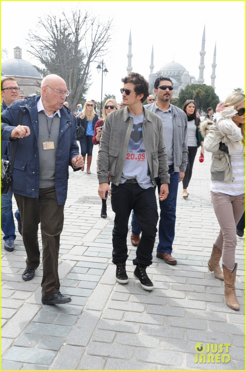 orlando bloom sightseeing in istanbul 152835813