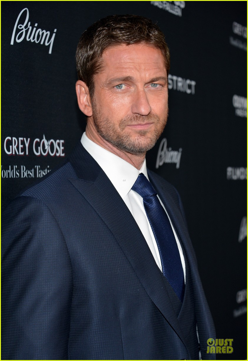 gerard butler olympic has fallen hollywood premiere 092833098