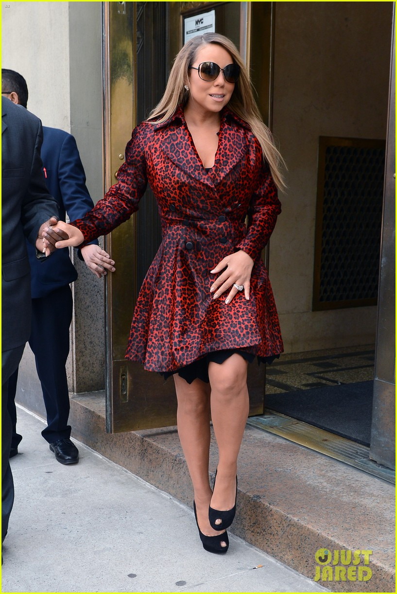 mariah carey fallon live with kelly michael visits 09