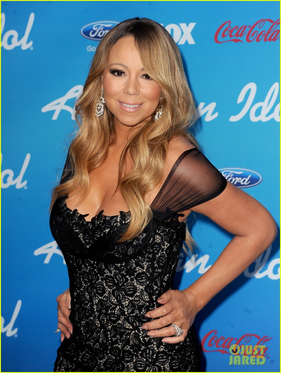 mariah carey american idol 2013 season 12 finalists party 052827135