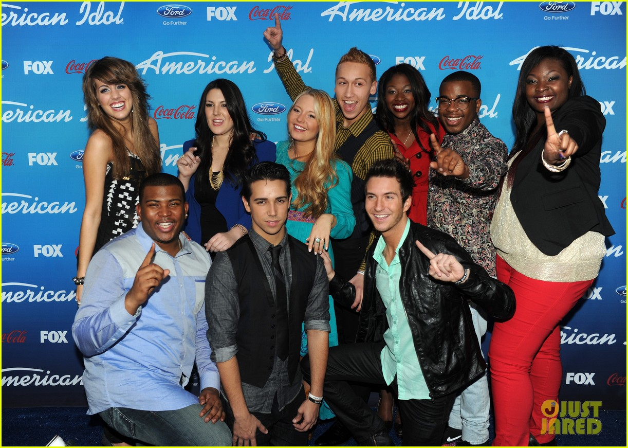 mariah carey american idol 2013 season 12 finalists party 122827142
