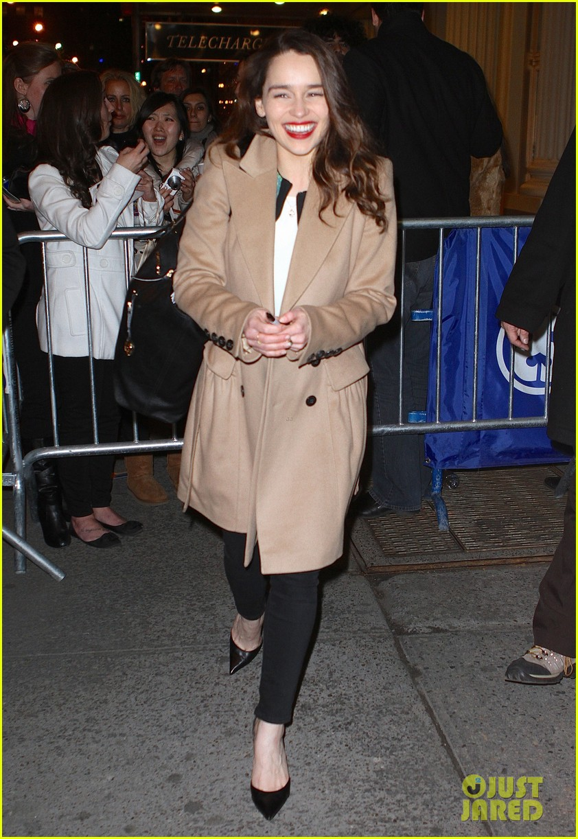 emilia clarke breakfast at tiffanys is joy joy joy 012828338