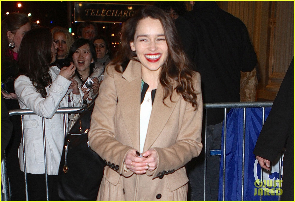 emilia clarke breakfast at tiffanys is joy joy joy 032828340