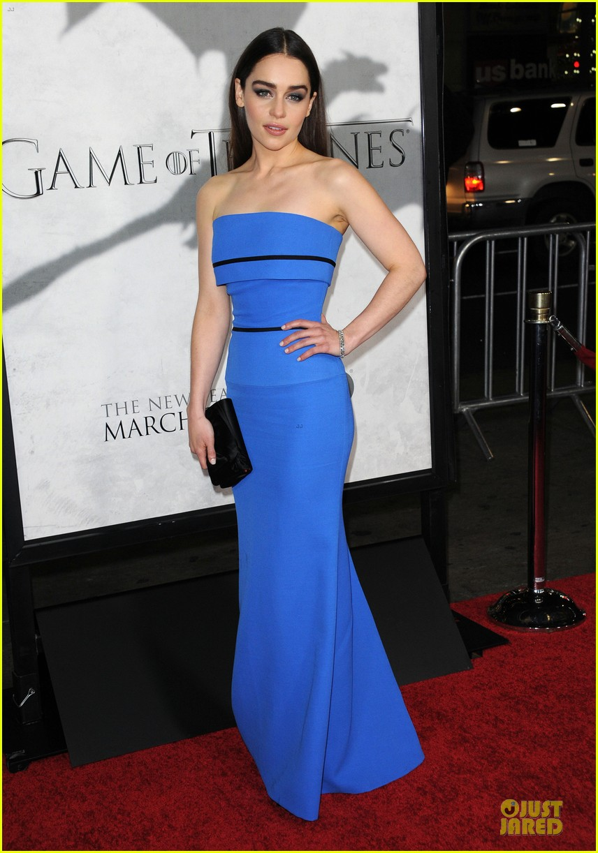 emilia clarke game of thrones season 3 premiere party 162833169