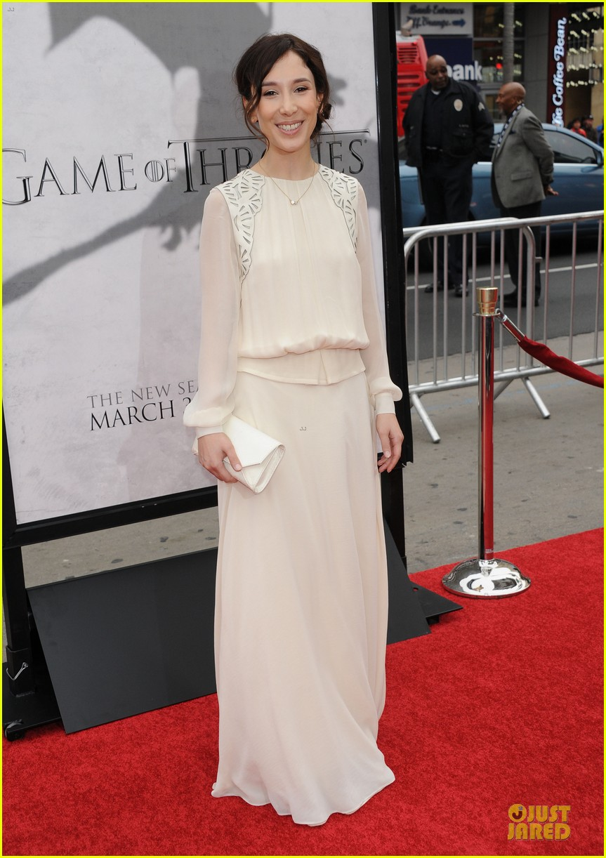 emilia clarke game of thrones season 3 premiere party 312833184