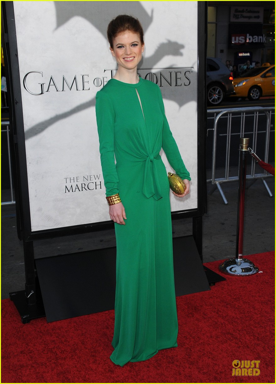 emilia clarke game of thrones season 3 premiere party 352833188