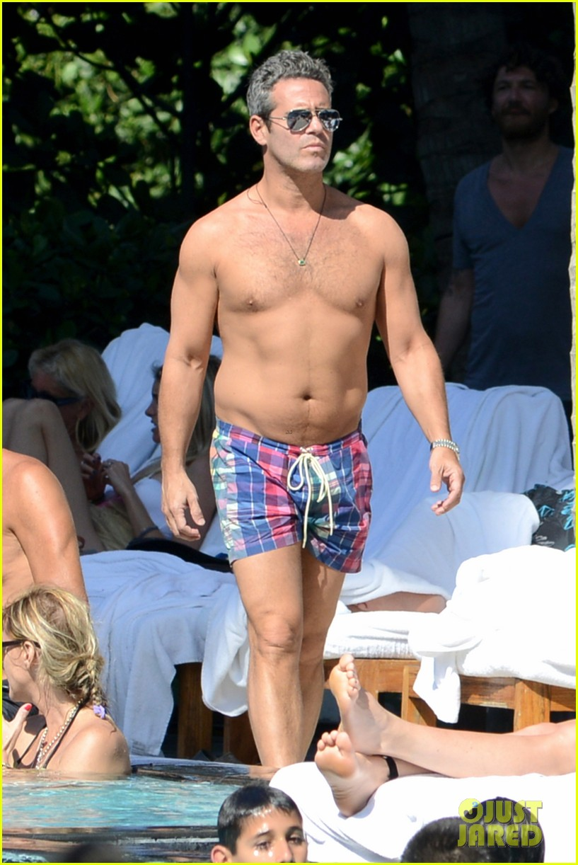 andy cohen sean avery shirtless anniversary 012836728