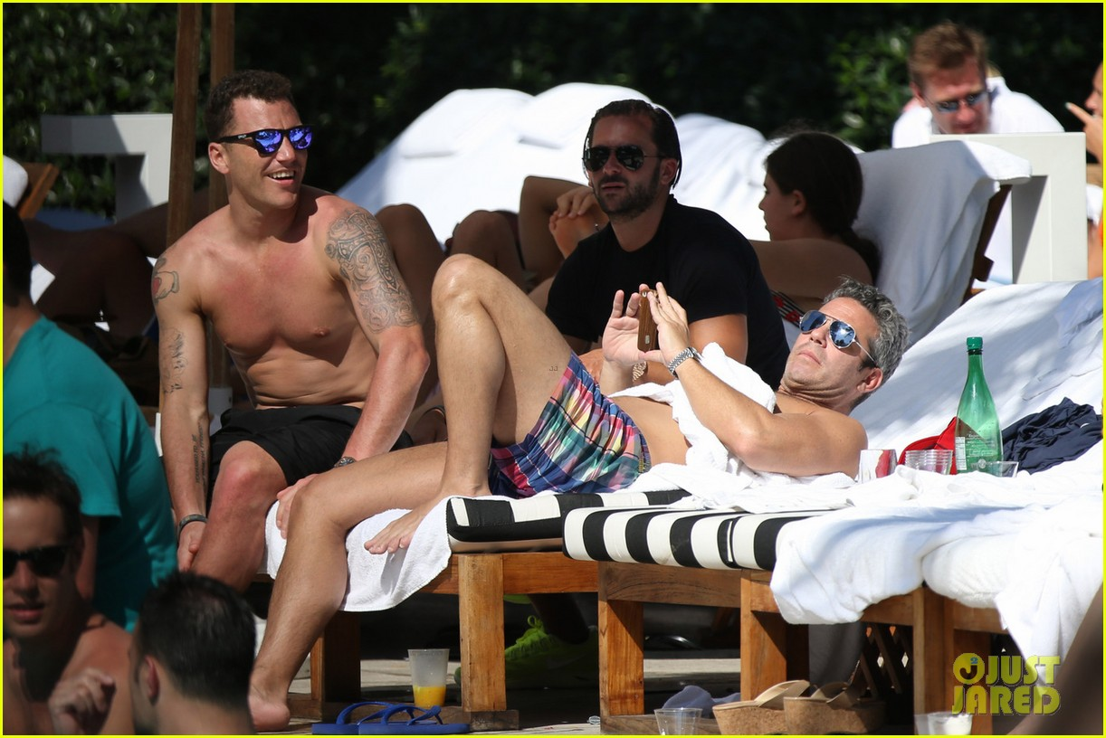 andy cohen sean avery shirtless anniversary 072836734