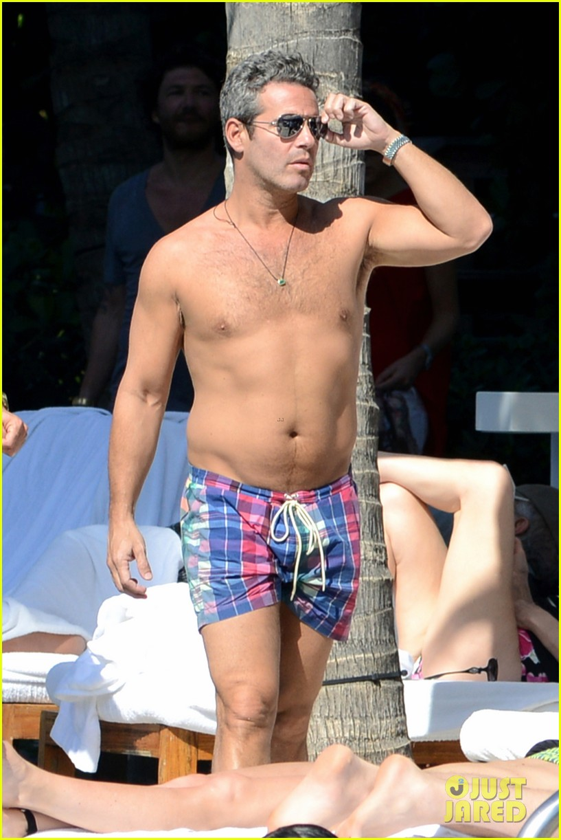 andy cohen sean avery shirtless anniversary 092836736