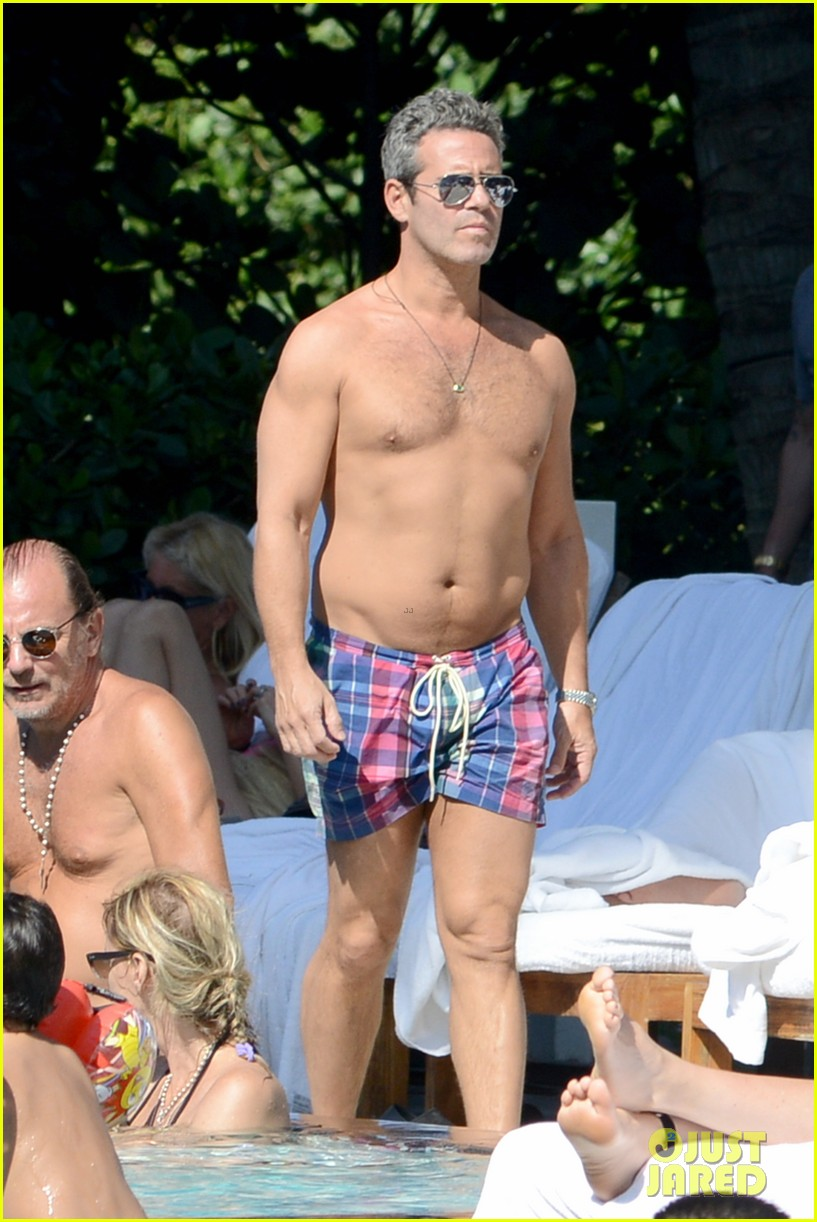 andy cohen sean avery shirtless anniversary 112836738