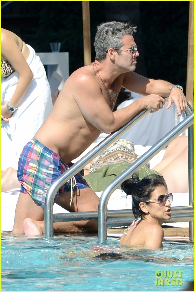 andy cohen sean avery shirtless anniversary 142836741