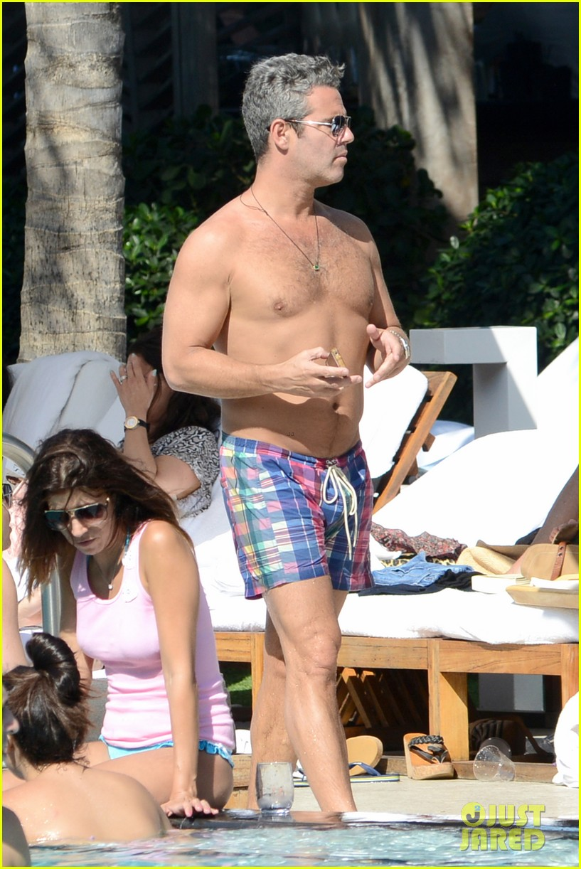 andy cohen sean avery shirtless anniversary 152836742
