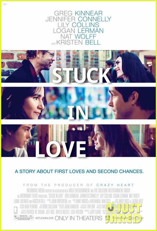 lily collins stuck in love trailer poster 03