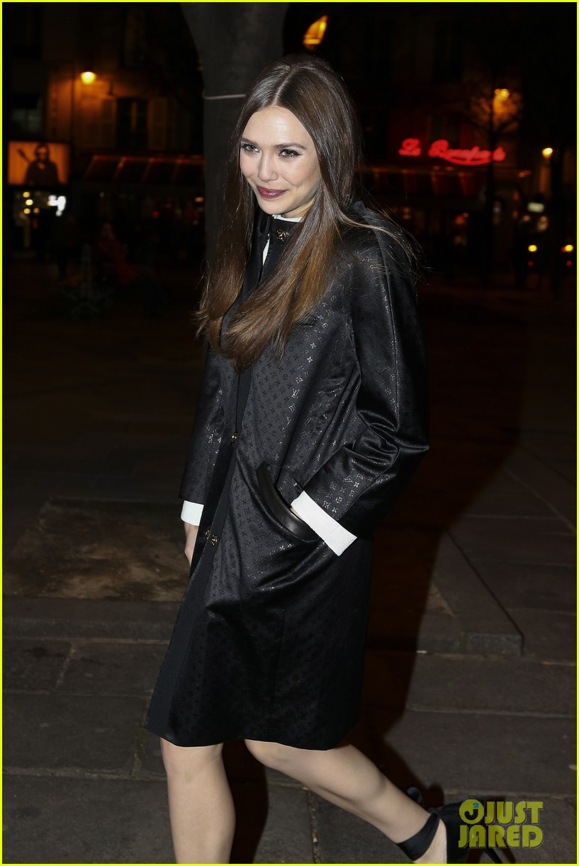 lily collins elizabeth olsen louis vuitton cocktail party 032825943