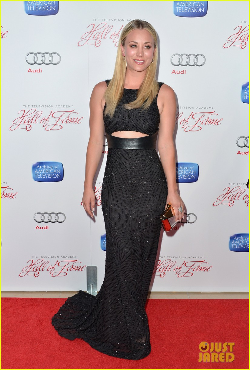 kaley cuoco will arnett academy hall of fame gala 082829390