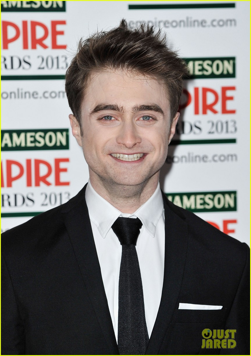 daniel radcliffe sam claflin jameson empire awards 2013 022837082