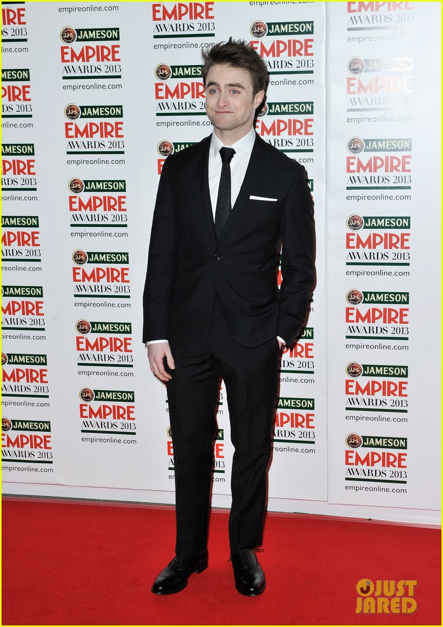 daniel radcliffe sam claflin jameson empire awards 2013 072837087