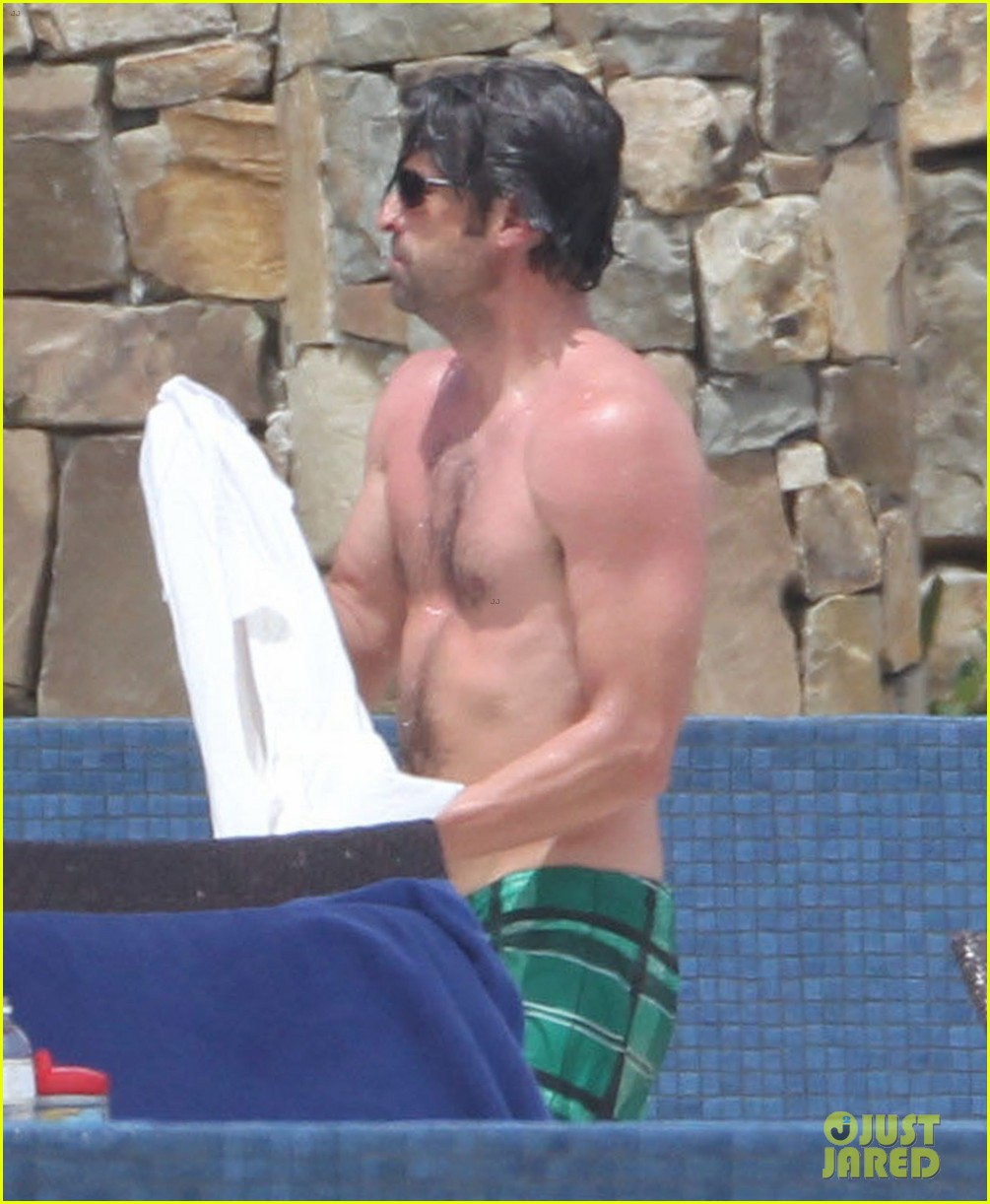 patrick dempsey shirtless family vacation in cabo 042840616