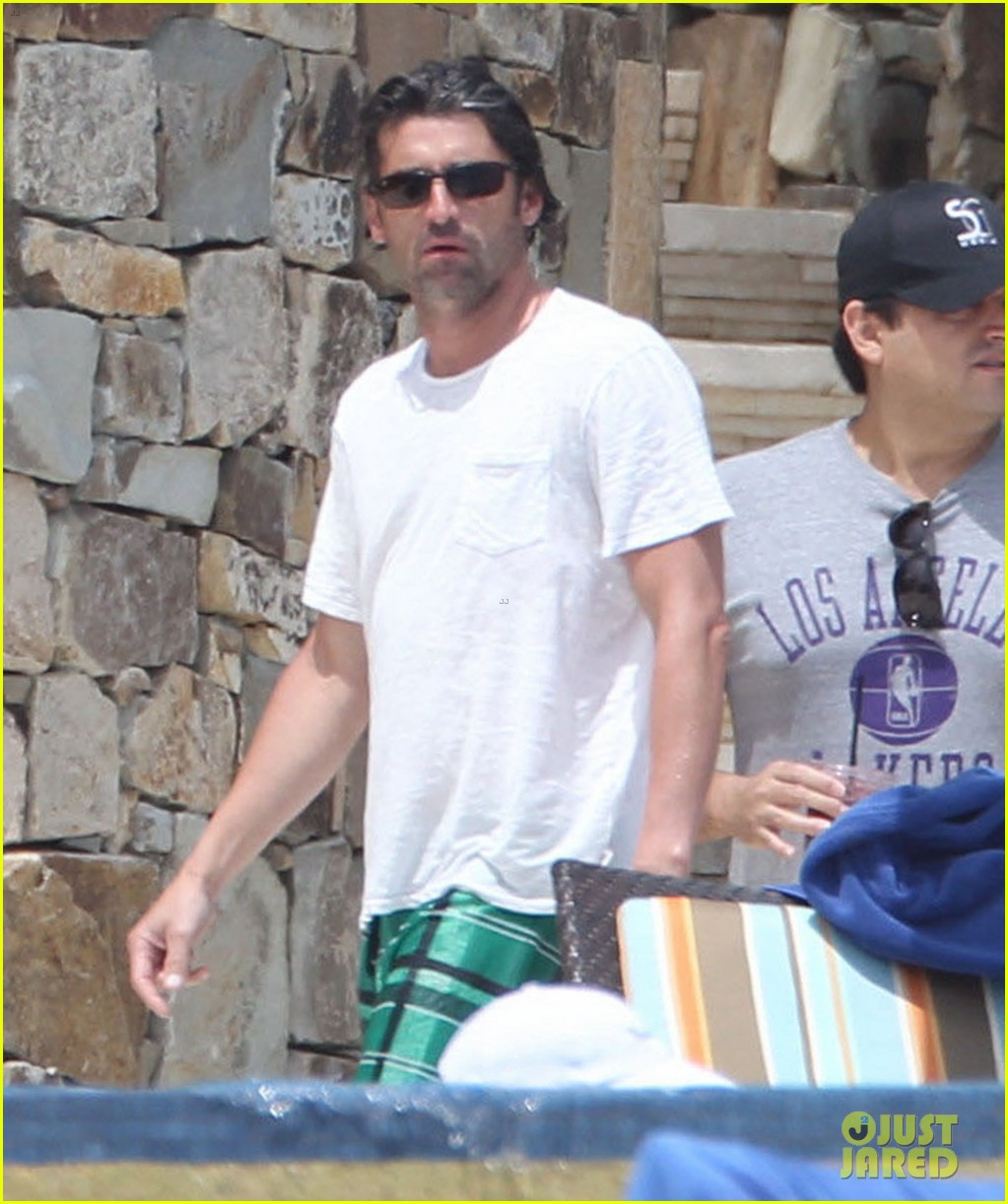 patrick dempsey shirtless family vacation in cabo 202840632