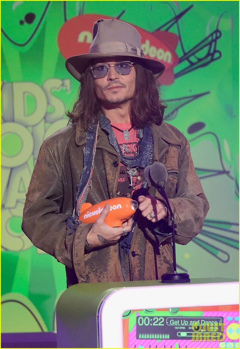 johnny depp kids choice awards 2013 winner 062836591