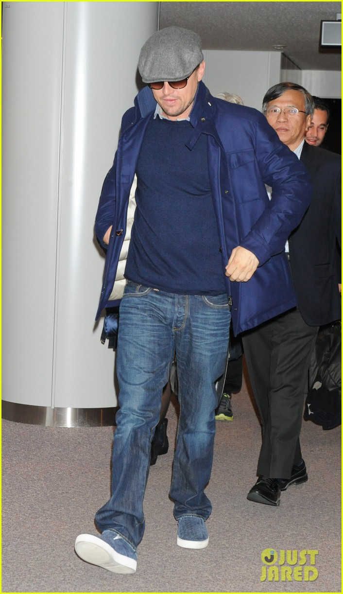 leonardo dicaprio from los angeles to japan 022822887