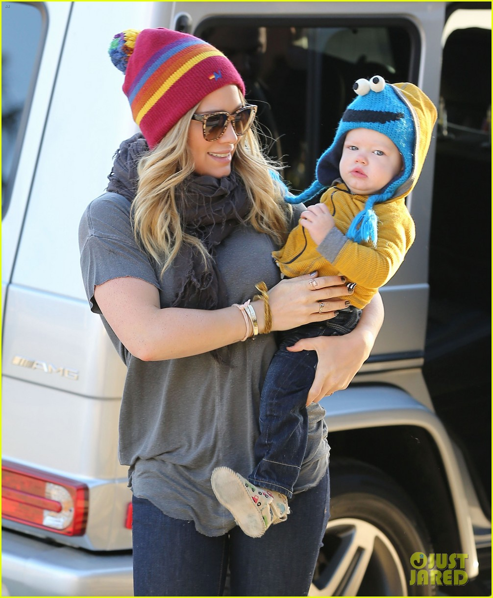 hilary duff family fun weekend with luca 012828938