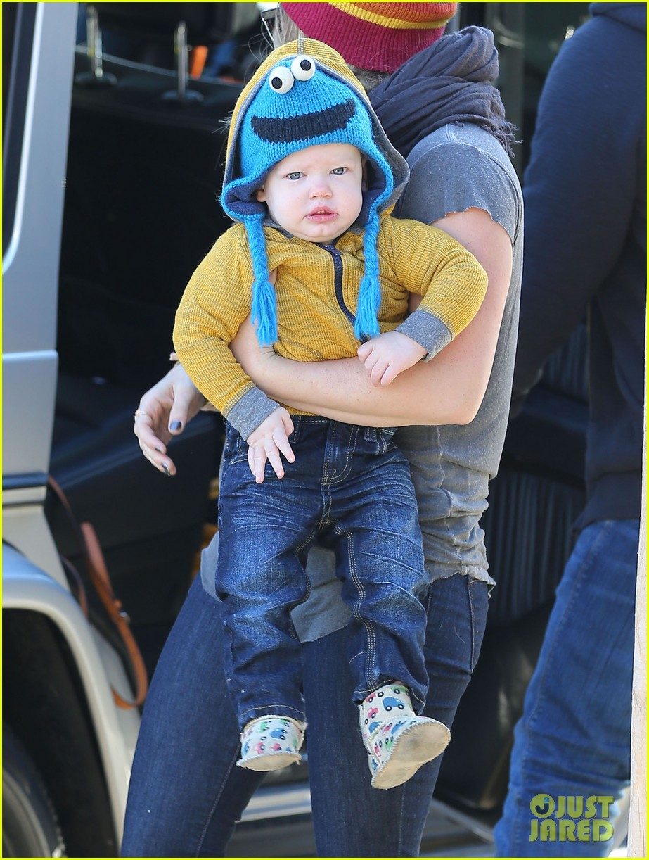 hilary duff family fun weekend with luca 032828940