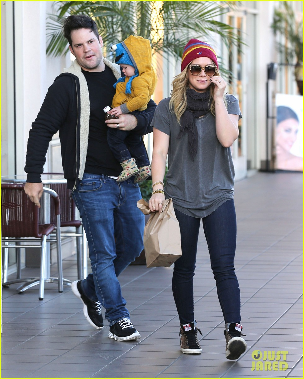hilary duff family fun weekend with luca 112828948