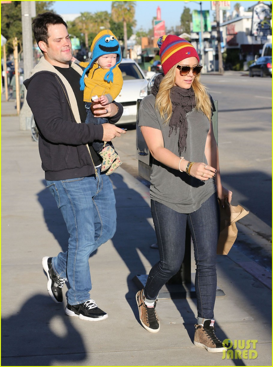hilary duff family fun weekend with luca 142828951