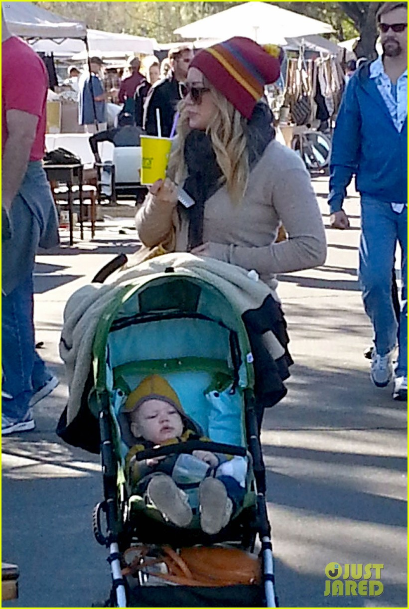 hilary duff family fun weekend with luca 182828955