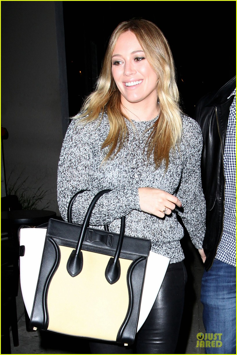 hilary duff daily grill lunch stop 302836081