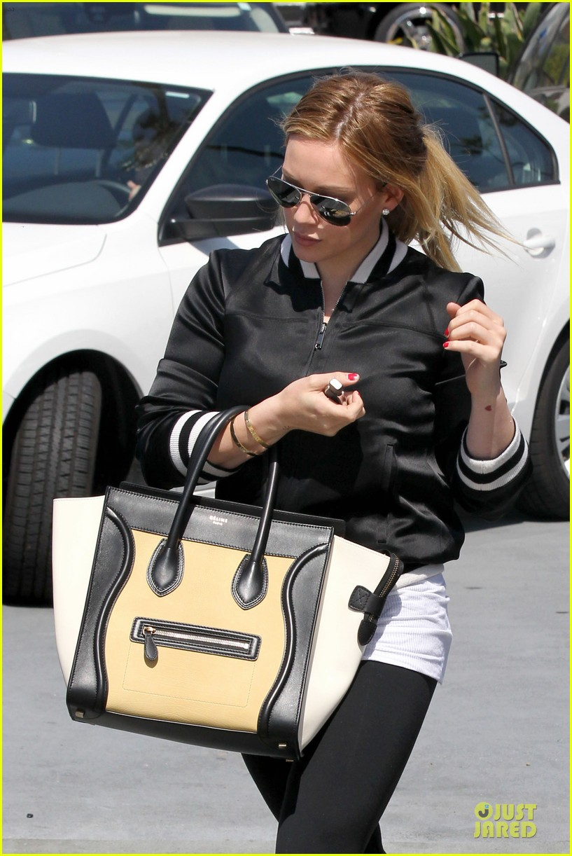 hilary duff daily grill lunch stop 312836082