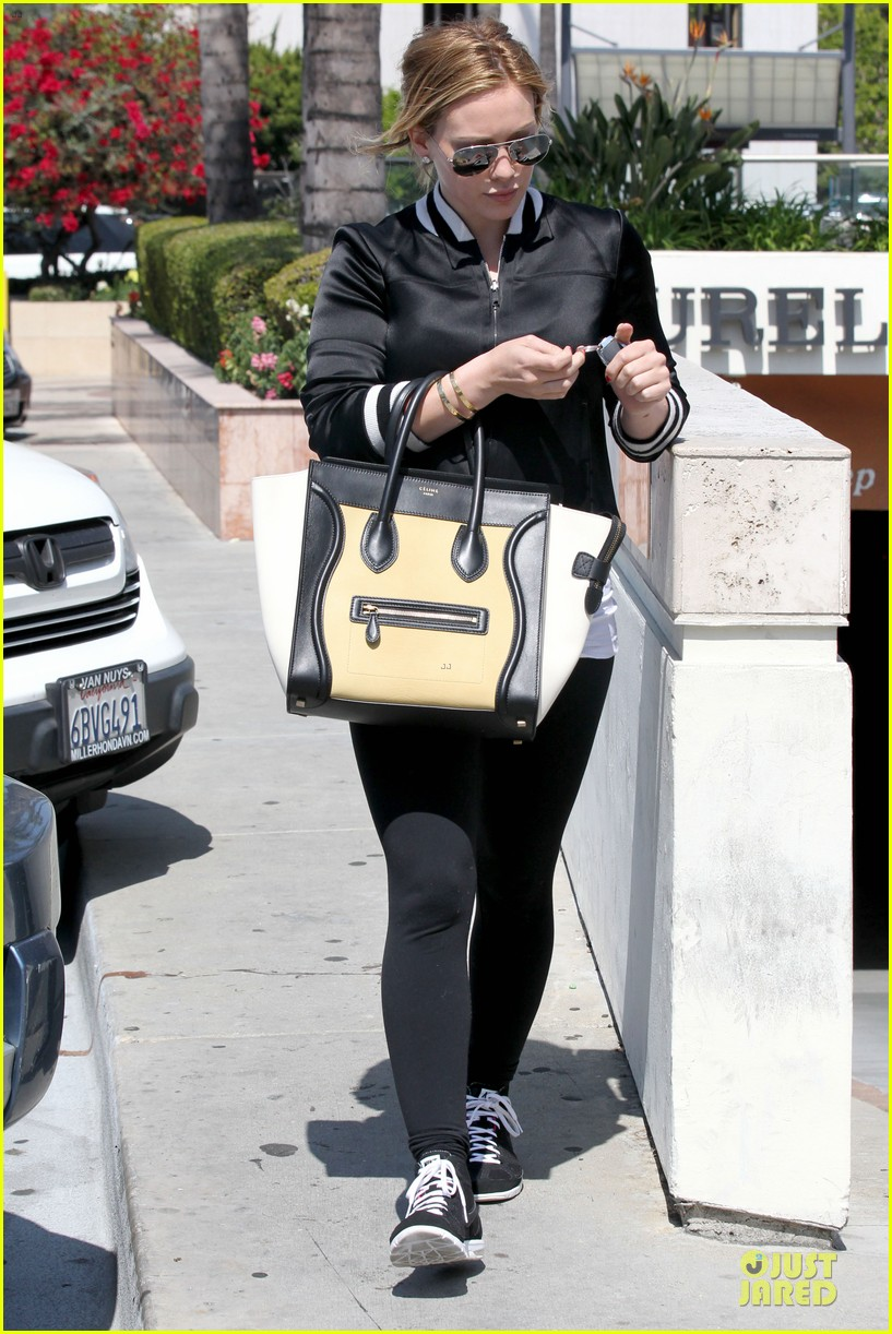hilary duff daily grill lunch stop 36