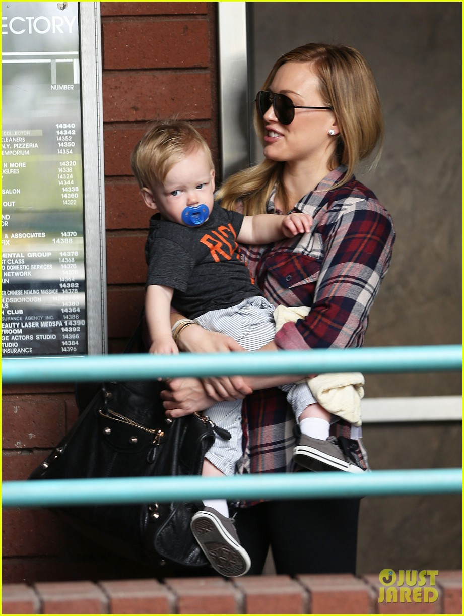 hilary duff baby luca turns 1 01