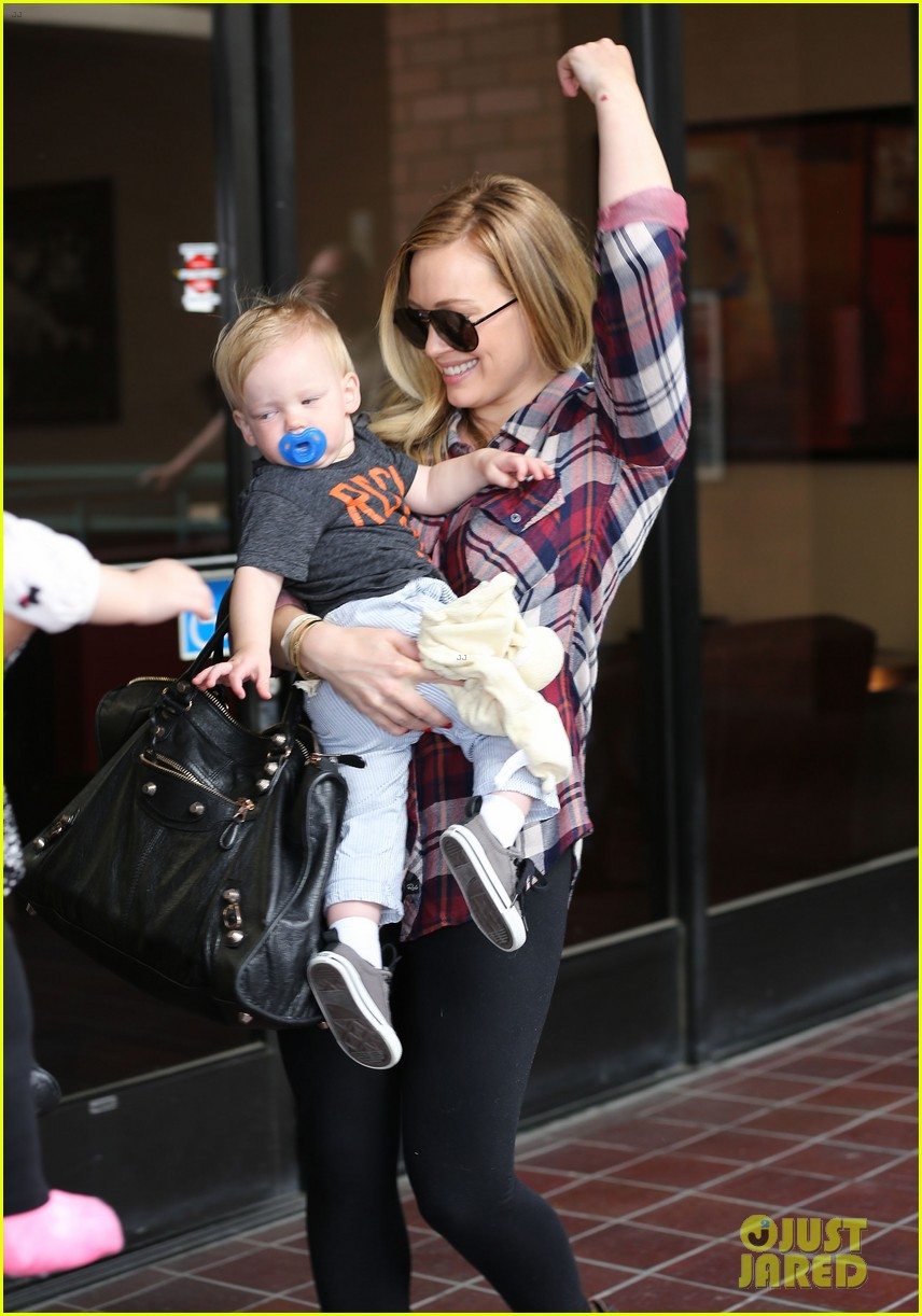 hilary duff baby luca turns 1 072834981
